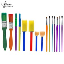 Tempera Value Brushes - 15-Piece Set